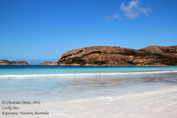 Lucky Bay - Cape Le Grand - Western Australia - 2011
